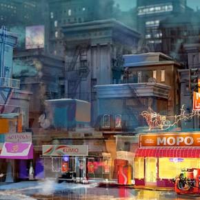 Desenvolvimento visual do filme Home, por Jason Scheier