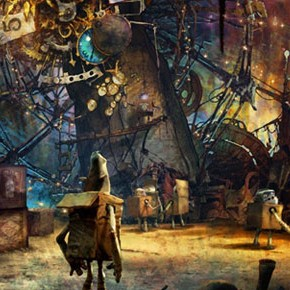 Concept Arts de Paul Lasaine para o filme The BoxTrolls