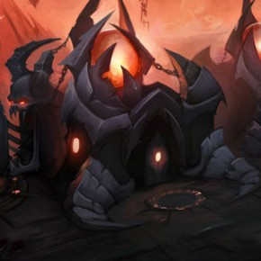 Artes de David Harrington para Heroes of the Storm