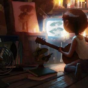 Artes de Shelly Wan para o filme Coco, da Disney/Pixar