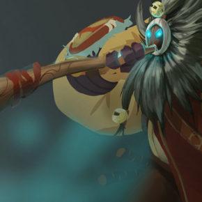 Concept Arts do Game League of Legends, por Chris Campbell