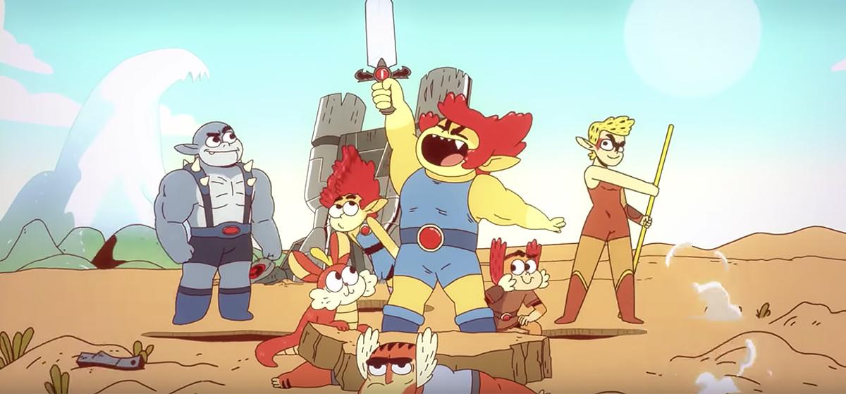 thundercats roar character designs - cartoon network