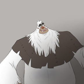 Mais artes do filme Smallfoot, por Sergio Pablos Animation