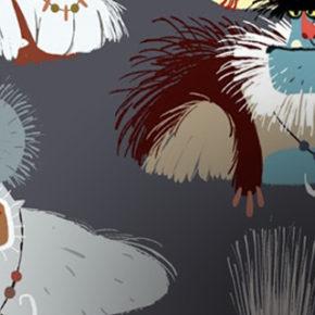 Character Designs do filme Smallfoot, por Daniel Fernández Casas
