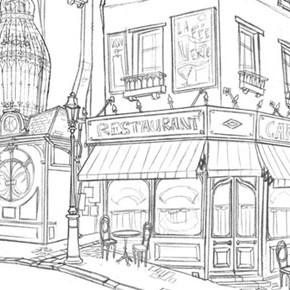 Incríveis desenhos de Paul Mager para o filme Um Monstro em Paris