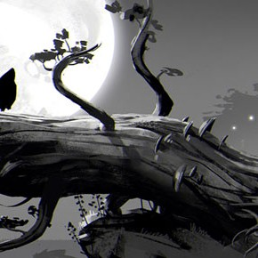 Artes do Game Ori and the Blind Forest, do Moon Studios