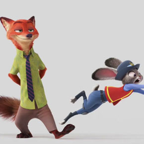 Primeiro trailer do filme Zootopia, do estúdio Disney
