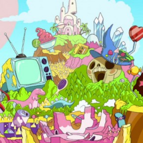 Artes do curta Twelve Forever, criado para o Cartoon Network