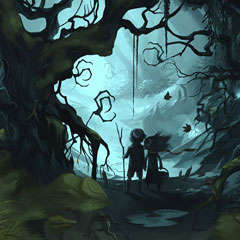 Artes do game Hansel and Gretel, por Vanja Todoric