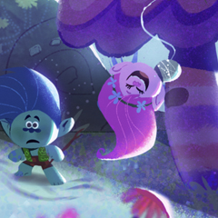 Artes de Trolls: The Beat goes On!, por Elena e Olivia Ceballos