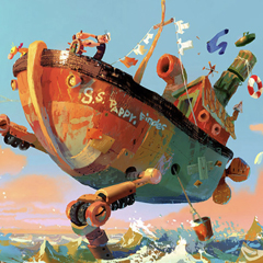 """Desenvolvimento Visual do filme """"Popeye"""", por Aurélien Predal"""