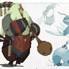 Concept Arts do Game League of Legends, por Chris Campbell