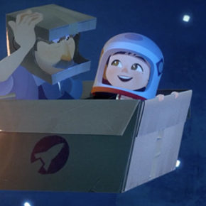 Trailer oficial do curta One Small Step, do  Taiko Studios