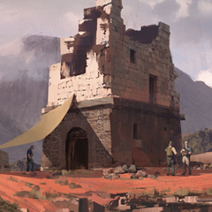 Concept Arts do Game Uncharted 4, por Nick Gindraux