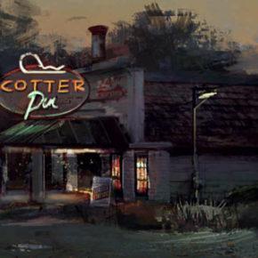 Artes de Drew Hartel para filmes dos estúdios Disney/Pixar