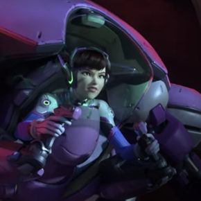 "Assista: Overwatch Animated Short ""Shooting Star"""