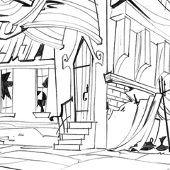 "Background Designs de Chris Tsirgiotis para ""Tangled the series"""