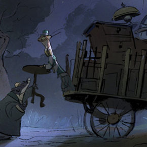 Mais artes de Mary Poppins Returns, do Disney Studio, por Ryan Carlson