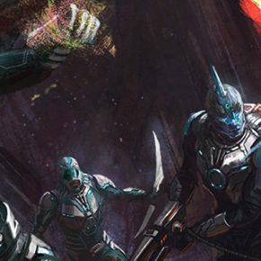 Artes de Jackson Sze para o filme Captain Marvel