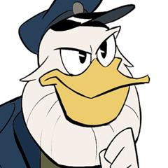Character Designs do seriado DuckTales, por Tapan Gandhi