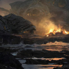 Concept Arts do filme Star Wars: The Last Jedi, pot Seth Engstrom