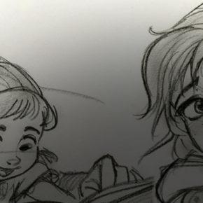 Mais Character Designs do filme Frozen 2, por Jin Kim