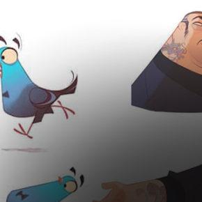 Artes de José Manuel Fernández Oli para  Spies in Disguise