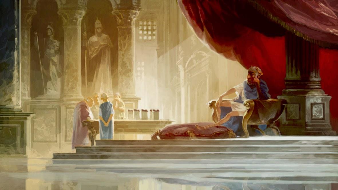 Belles illustrations  Asterix_DDD_Cesar_Cacouault_Interior