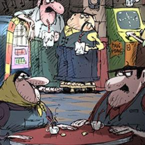 Artes de Eric Guillon para o filme Despicable Me 3