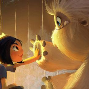 Artes de Jason Song para o filme Abominable, da DreamWorks