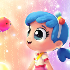 Artes de True and the Rainbow Kingdom, por Michelle Junkin