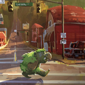 Concept Arts do filme Onward, dos estúdios Disney/Pixar