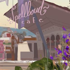 Artes de Carlos Felipe León para o filme Onward, da Pixar