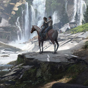 Artes de Aaron Limonick para o Game The Last of Us Part II