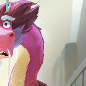"Artes de ""Victorior"" para Wish Dragon, da Sony Animation"