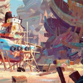 "Novas artes de ""Popeye Movie"", por Aurelien Predal"