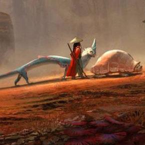 Raya and the Last Dragon, com artes de Mehrdad Isvandi