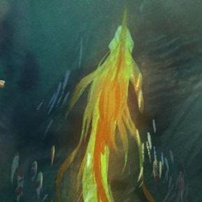 Artes de Mingjue Helen Chen para Raya and the Last Dragon