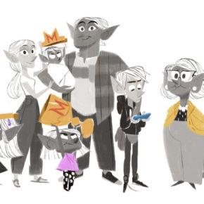 Artes de Willie Real para filmes Disney/Pixar e DreamWorks