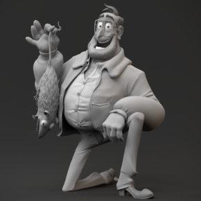 Esculturas do filme The Mitchells vs The Machines