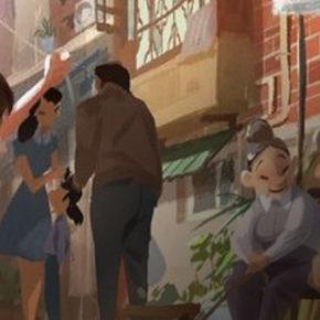 Artes do filme Wish Dragon, por Mingjue Helen Chen