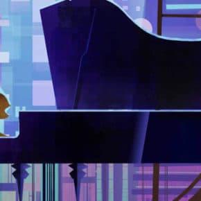 Artes de Aurora Jimenez para o filme VIVO, da Sony Animation